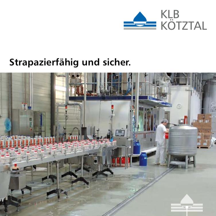 KLB-Informationsbroschüre PU Beton