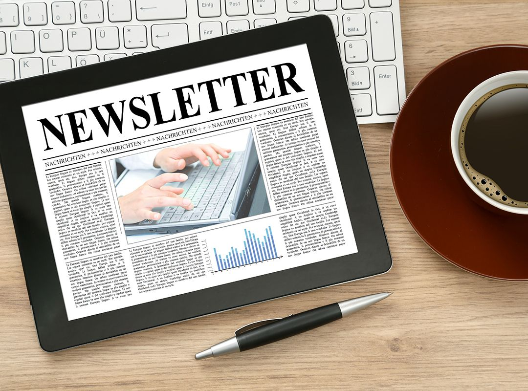Digitaler Newsletter zu aktuellen Themen